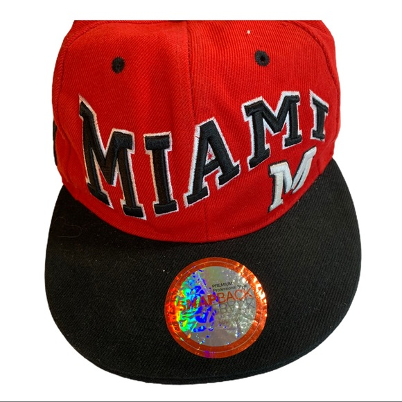 MIAMI Friends Limited Edition Theme Snapback Cap Hat Unisex All Adjustable Sizes